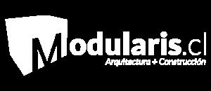 Logo modularis blanco